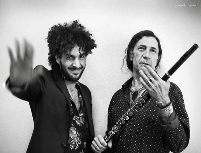 1 Jorge Pardo & Lin Cortés, junio 2015, foto Zdenek Tusek